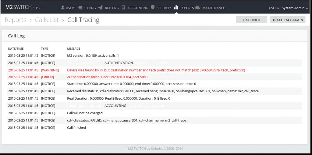 Calls_tracing_log